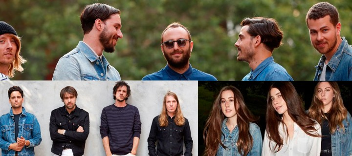 The Vaccines, Haim, Local Natives y Levis